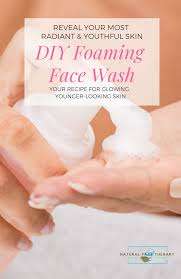 face wash diy cleanser recipe