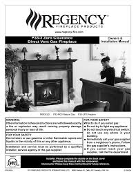 regency fireplace products p33 4