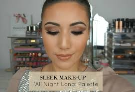 sleek makeup all night long palette