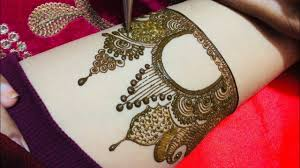 bridal mehndi design and make up