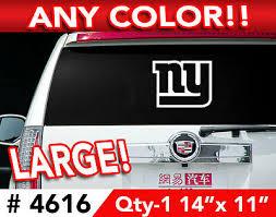 New York Giants Ny Window Decal Sticker 14 X10 4606 Rainbowlands Lk