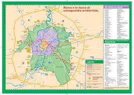 Mappa Fascia Verde Alta Risoluzione Roma [on23k12gyyl0]