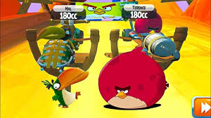 Angry Birds cars Terence vs Hal - YouTube