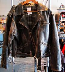 guidelines to distress a leather jacket