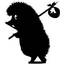 Buy Funny Hedgehog Decal Vinyl Car Ipad Laptop Window Wall Bumper Sticker In Cheap Price On M Alibaba Com