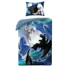 how to train your dragon single duvet