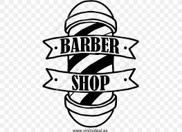 Barber Pole Vinyl Decal