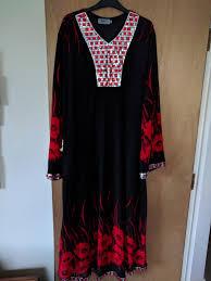 sze xl black silver sequin red gems