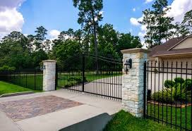Residential Commercial Driveway Gates Houston Tx Texas Fence