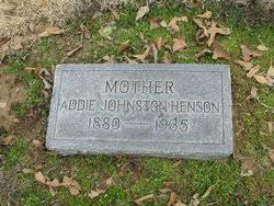 Addie Johnston Henson (1880-1935) - Find A Grave Memorial