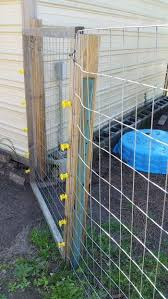 T Post Welded Wire Fence Welded Wire Fence Diy Backyard Fence Wire Fence