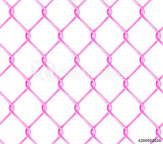 Seamless Pink Chain Link Fence Pattern Realistic Wire Fence Vector Texture Buy This Stock Vector And Explore Similar Vectors At Adobe Stock Adobe Stock
