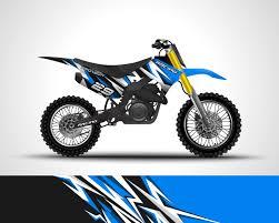 Motocross Vinyl Sticker Download Free Vectors Clipart Graphics Vector Art
