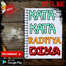 kata kata raditya dika for android apk