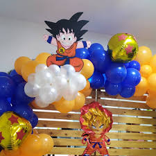 Fiesta De Dragon Ball Z Ideas Para Decorar El Cumpleanos