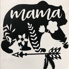 Other Mama Bear Car Decals Custom Poshmark