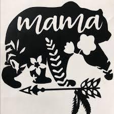 Other Mama Bear Car Decals Custom Poshmark