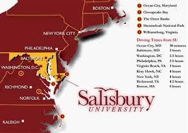 Visit Salisbury University Directions Salisbury University Salisbury Salisbury Maryland