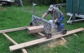 homemade portable sawmill