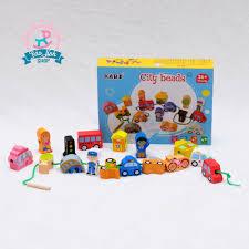 Xâu hạt Kabi đồ chơi cho bé 1 tuổi AN TOÀN - GIÁ TỐT