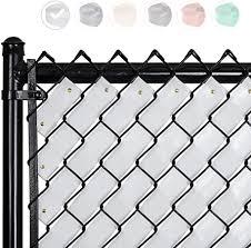 Fenpro Chain Link Fence Privacy Tape Arctic White Amazon Ca Patio Lawn Garden