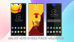 samsung note 10 hole punch wallpapers