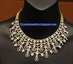 tanishq diamond necklace set designs 2
