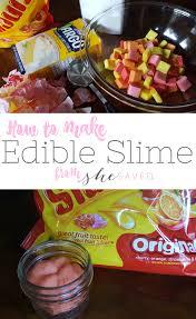 homemade edible slime recipe slime you