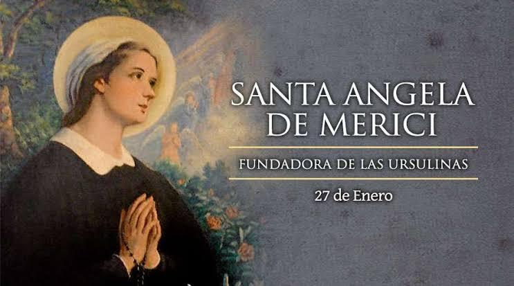 """Resultado de imagen para Santa Angela Merici"""""""
