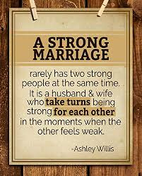 com a strong marriage take turns marriage quotes wall