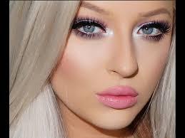 how to apply makeup like a barbie doll