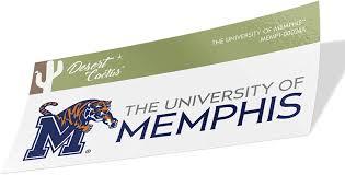 Amazon Com University Of Memphis Tigers Ncaa Vinyl Decal Laptop Water Bottle Car Scrapbook Sticker 00024a Computers Accessories