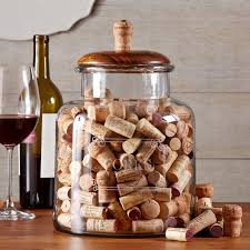 decorative cork holder jar sagamore bay