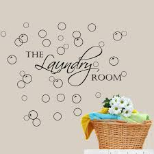 Winston Porter Laundry Room With Bubbles Wall Decal Reviews Wayfair