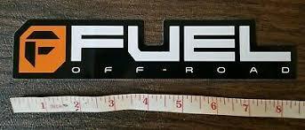 Fuel Offroad Wheels Sticker Decal Racing 5 00 Picclick