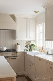 cream kitchen cabinet custom paint