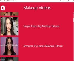 videos app to learn makeup techniques