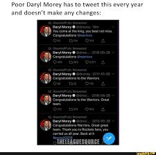 Poor Daryl Morey has to tweet this ...