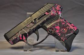 ruger lcp 380 muddy pink camo