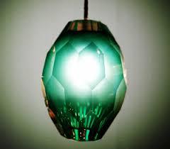 hand blown murano glass pendant light