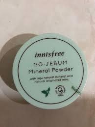 innisfree no se mineral powder