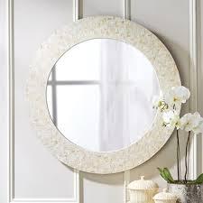 pearl lantana wall mirror
