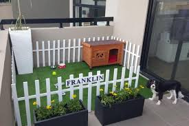 How To Make Apartment Balconies Dog Friendly Dog Rooms Apartment Dogs Dog Area
