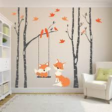 Tree Wall Decals For Nursery Australia Baby Girl Owl Dollar Picture Art Frame Vinyl Nz Collage Vamosrayos
