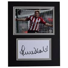 James Beattie Signed Autograph 10x8 photo display Southampton Football  Memorabilia