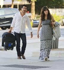 Zooey Deschanel and her new husband Jacob Pechenik - Mirror Online
