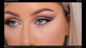 how to do a cut crease eye makeup look