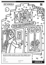 Print Je Kleurplaat Hendriks Makelaardij