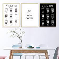 canvas art wall decor coffee wall art