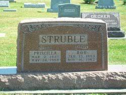 Priscilla Jackson Struble (1881-1952) - Find A Grave Memorial